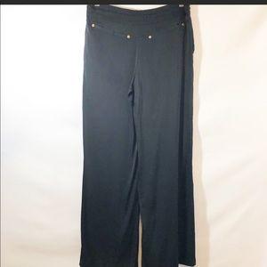 Bebe silk drawstring pants size small